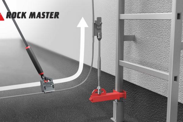 System TRACK MASTER zapewnia możliwość zmiany płaszczyzny poruszania się na wysokości.